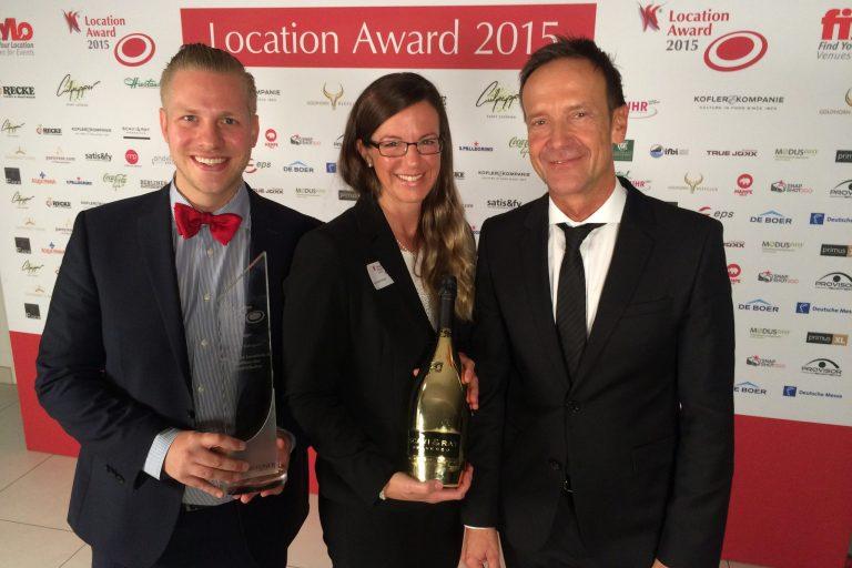 Preisuebergabe Location Award 2015 Lokhalle Göttingen